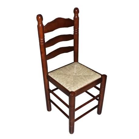 Cadeira madeira e palha Meson