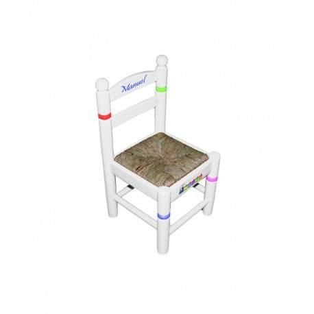 Cadeira infantil de 28 customizável