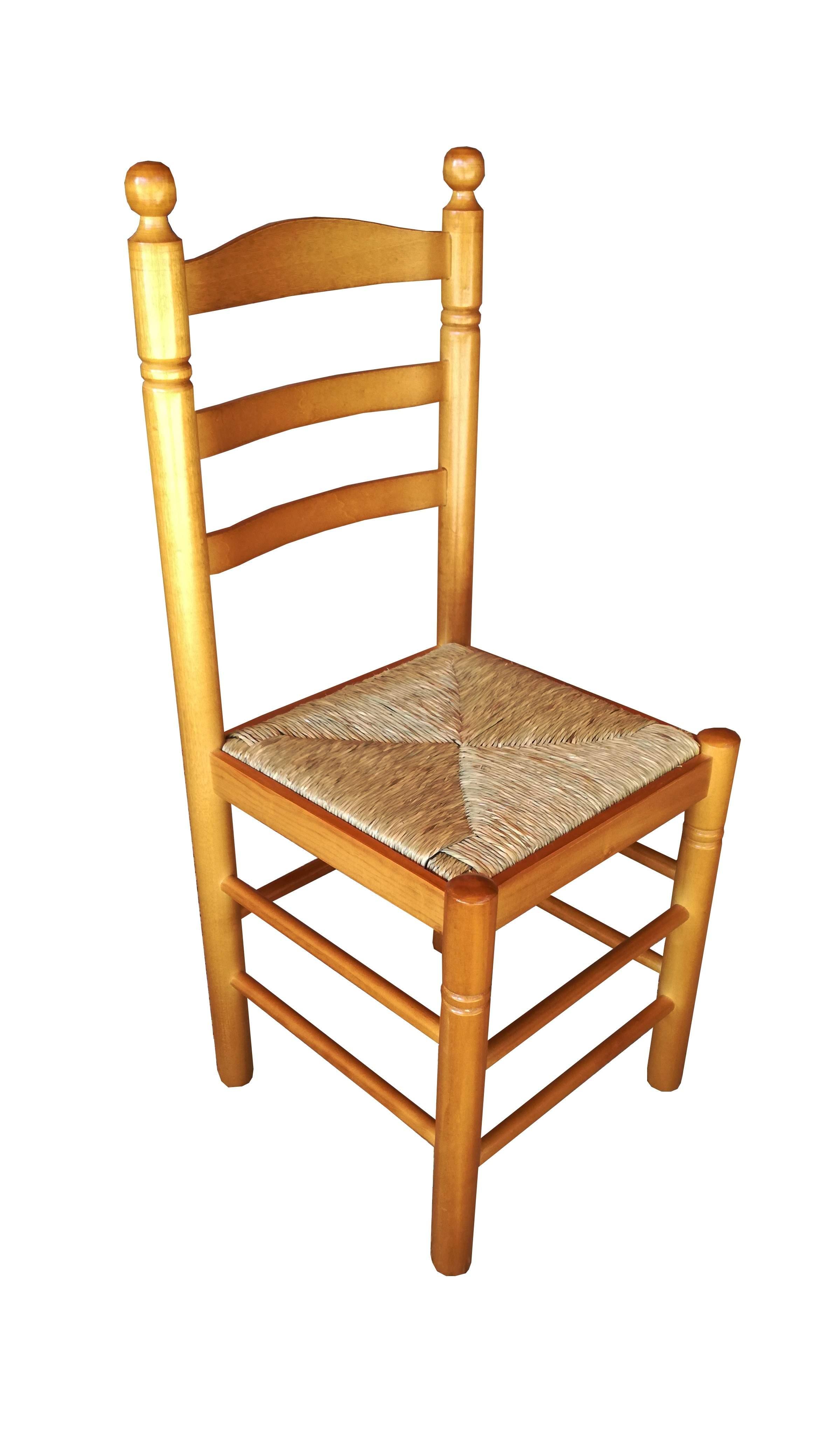 Sillas de enea precios gallery of silla toscana natural for Sillas de madera precios