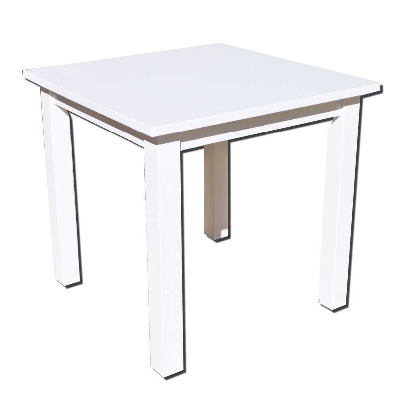 Conjunto de mesa de madera y 4 sillas