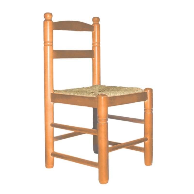 Silla infantil de enea y madera chata - Silla infantil madera ...