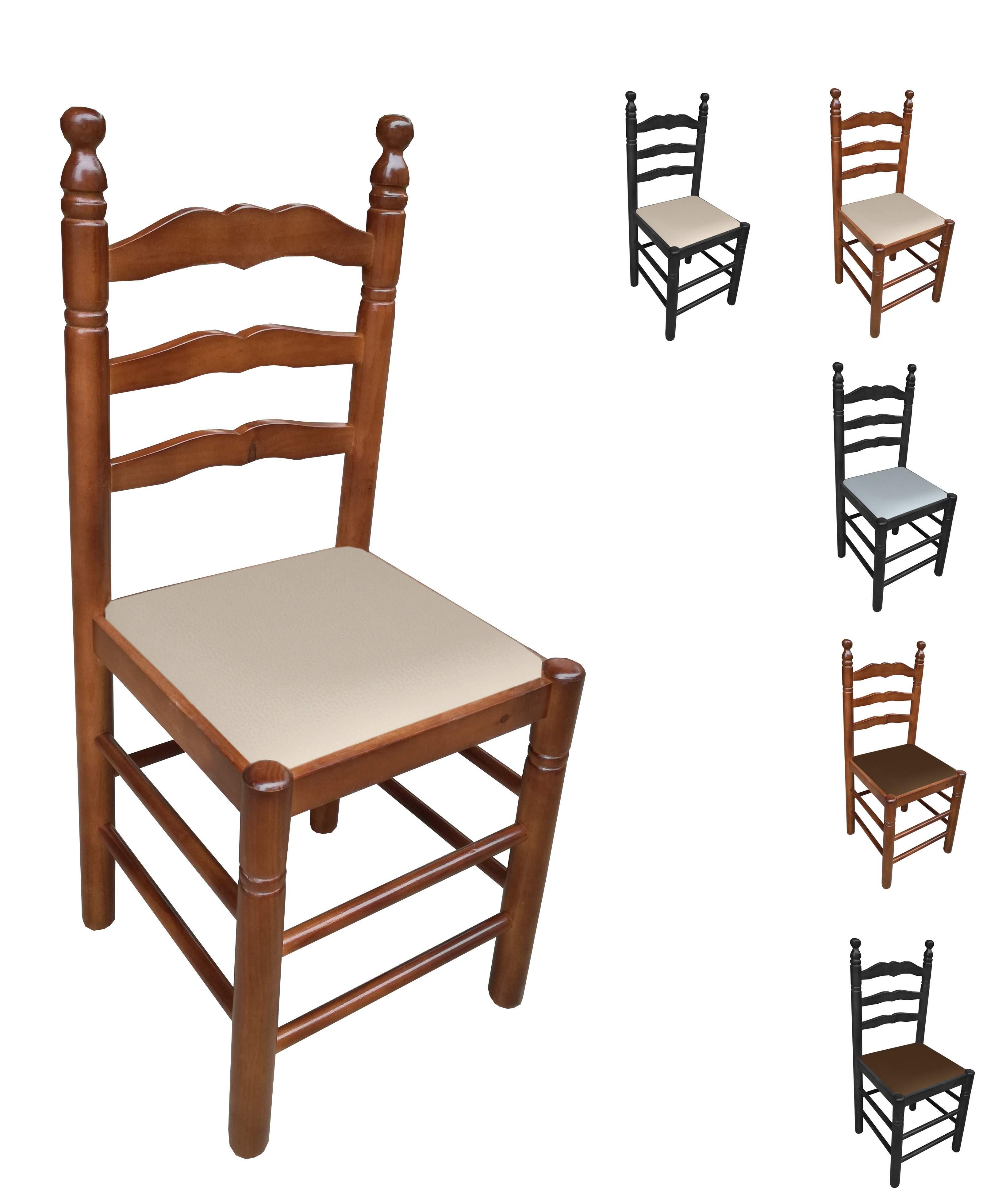 Sillas de enea (anea) y madera para hostelería y hogar. Envío ...