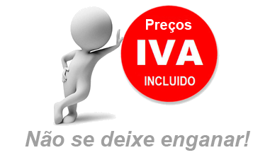 Preços IVA incluido